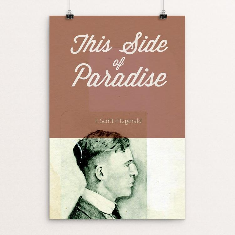 "This Side of Paradise by Eben Haines 12"" by 18"" Print / Unframed Print Recovering the Classics"