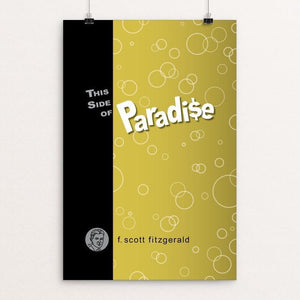 "This Side of Paradise by Robert Wallman 12"" by 18"" Print / Unframed Print Recovering the Classics"