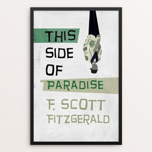 "This Side of Paradise by Sawsan Chalabi 12"" by 18"" Print / Framed Print Recovering the Classics"