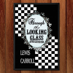 "Through the Looking Glass by C A Speakman 12"" by 18"" Print / Framed Print Recovering the Classics"