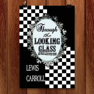 "Through the Looking Glass by C A Speakman 12"" by 18"" Print / Unframed Print Recovering the Classics"