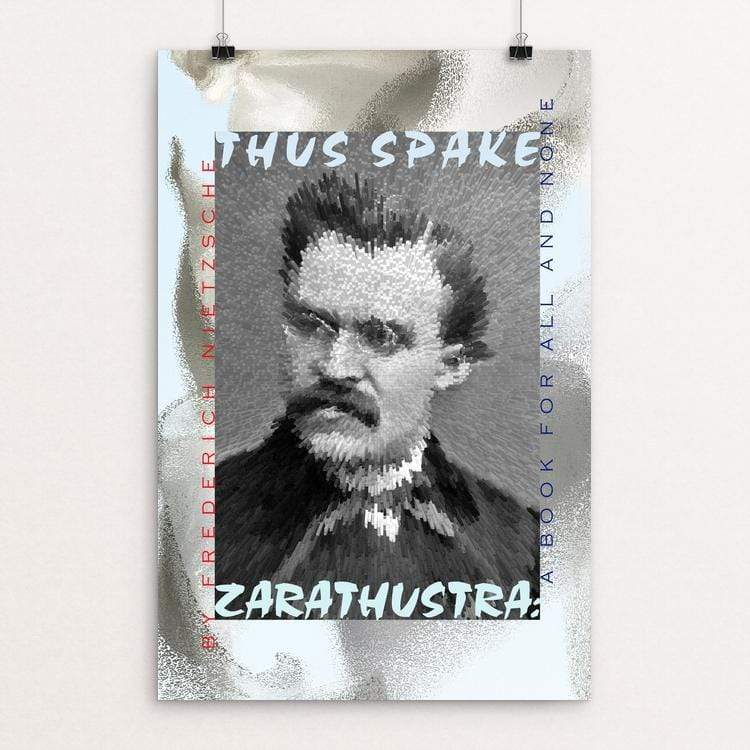 "Thus Spake Zarathustra by Vivian Chang 12"" by 18"" Print / Unframed Print Recovering the Classics"