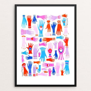 "Todos Juntos by Andrea Floren 12"" by 16"" Print / Framed Print Creative Action Network"