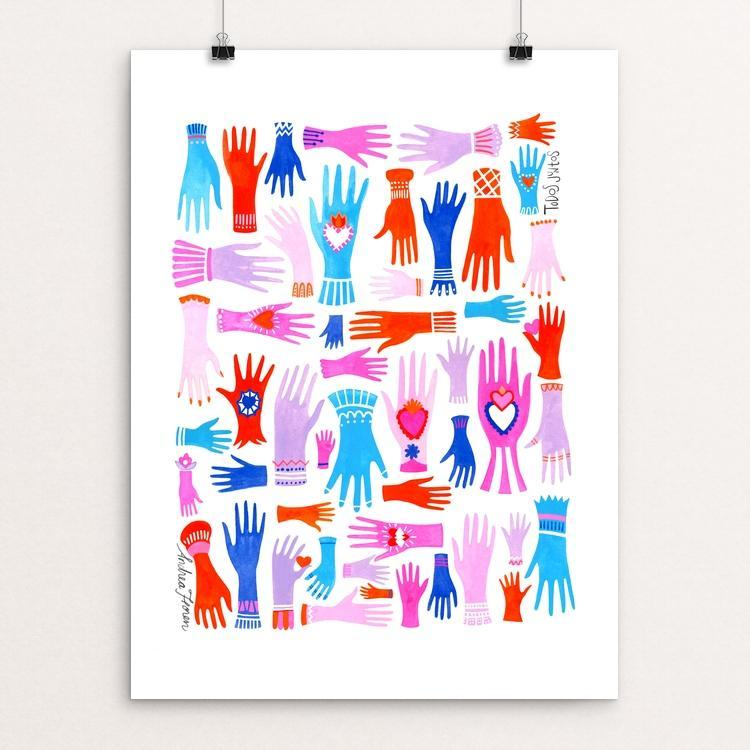 "Todos Juntos by Andrea Floren 12"" by 16"" Print / Unframed Print Creative Action Network"