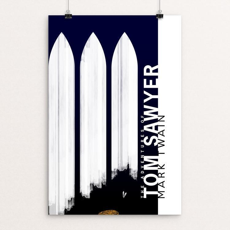 "Tom Sawyer by Nick Fairbank 12"" by 18"" Print / Unframed Print Recovering the Classics"