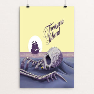 "Treasure Island by Owen LaMay 12"" by 18"" Print / Unframed Print Recovering the Classics"