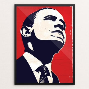 "Truth by Mark Forton 12"" by 16"" Print / Framed Print Design for Obama"