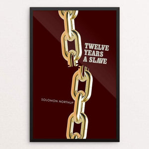 "Twelve Years a Slave by Bob Rubin 12"" by 18"" Print / Framed Print Recovering the Classics"