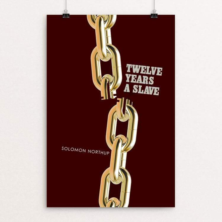 "Twelve Years a Slave by Bob Rubin 12"" by 18"" Print / Unframed Print Recovering the Classics"