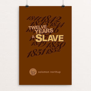 "Twelve Years a Slave by Robert Wallman 12"" by 18"" Print / Unframed Print Recovering the Classics"