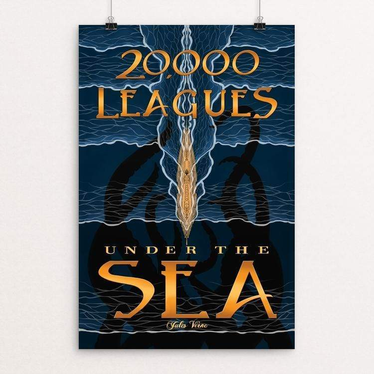 Twenty Thousand Leagues Under the Sea by Laiqah Hanold