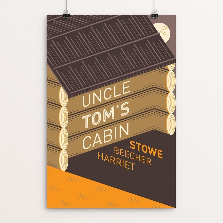 "Uncle Tom's Cabin by Karl Orozco 12"" by 18"" Print / Unframed Print Recovering the Classics"