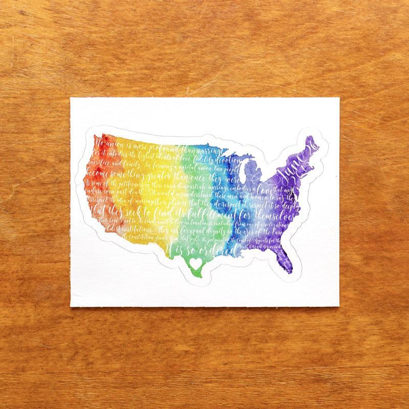 United in Love Sticker by Courtney Capparelle