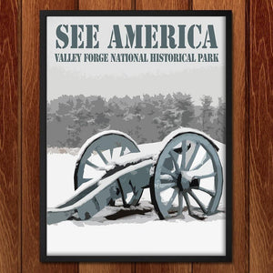 "Valley Forge National Historical Park 2 by Bill Vitiello 12"" by 16"" Print / Framed Print See America"