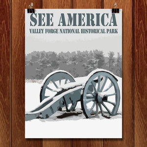 "Valley Forge National Historical Park 2 by Bill Vitiello 12"" by 16"" Print / Unframed Print See America"