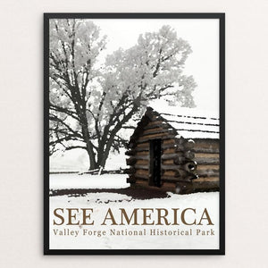 "Valley Forge National Historical Park by Bill Vitiello 12"" by 16"" Print / Framed Print See America"