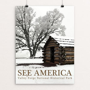 "Valley Forge National Historical Park by Bill Vitiello 12"" by 16"" Print / Unframed Print See America"
