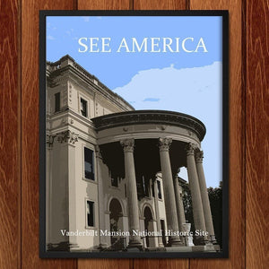 "Vanderbilt Mansion National Historic Site by Ludlowfan 12"" by 16"" Print / Framed Print See America"