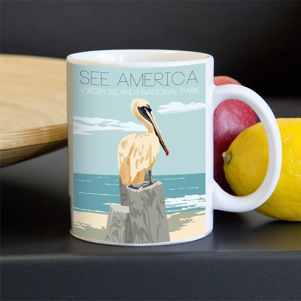 Virgin Islands National Park Mug by Liliya Moroz