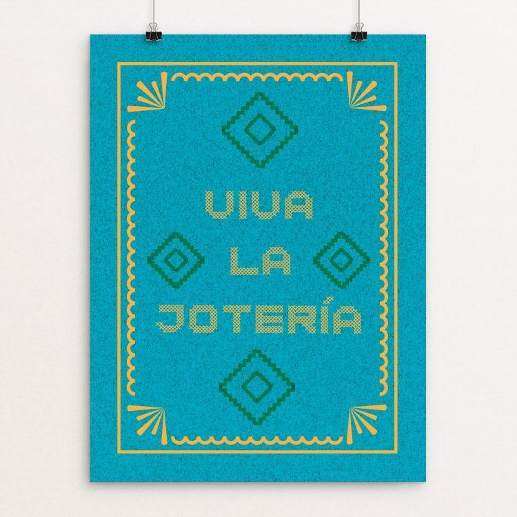 "Viva La Jotería by Heldáy de la Cruz 12"" by 16"" Print / Unframed Print Creative Action Network"