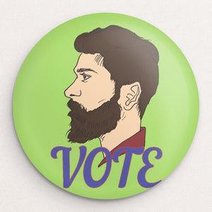 Vote 10 Button by Ryan Oakley Single Buttons Vote!