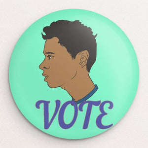 Vote 13 Button by Ryan Oakley Single Buttons Vote!