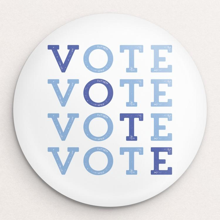VOTE! Button by Brooke Fischer Single Buttons Vote!