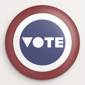 VOTE Button by Mark Forton Single Buttons Vote!