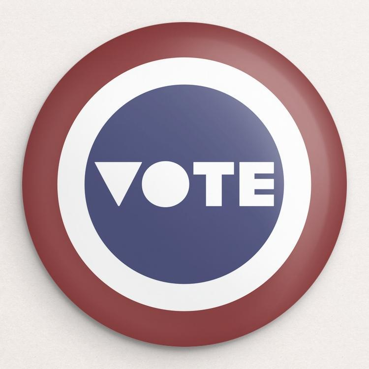 VOTE Button by Mark Forton
