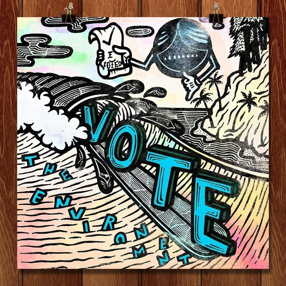 Vote for Good Vibes by David Schonhoff