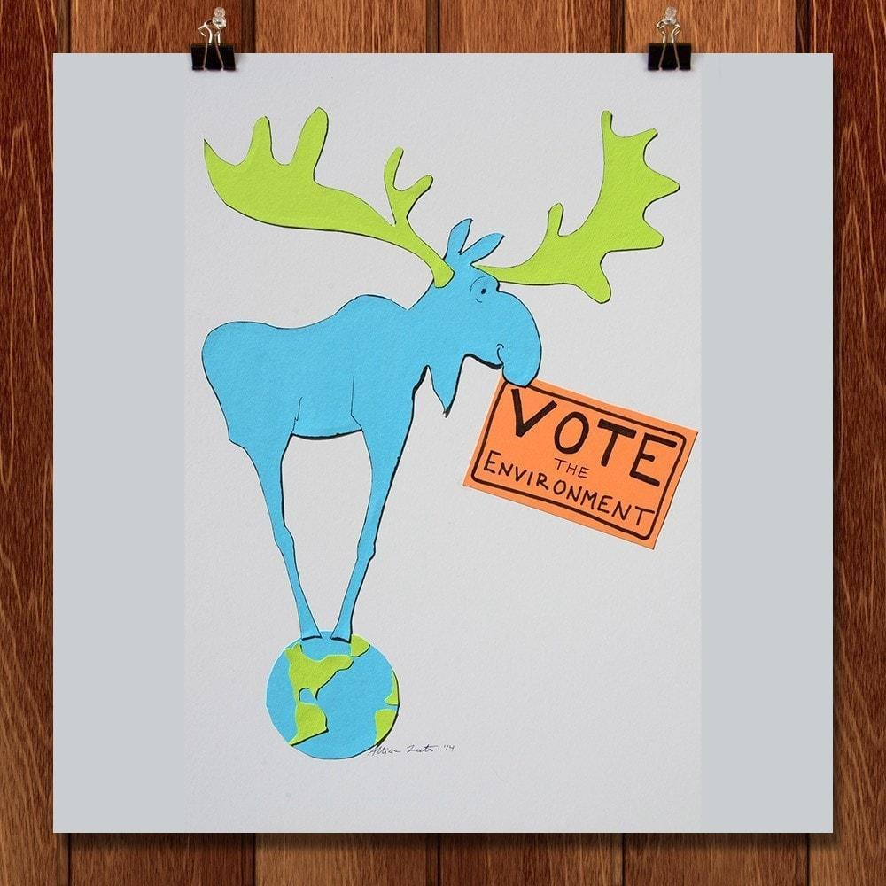 Vote For Moose by Allison Leete