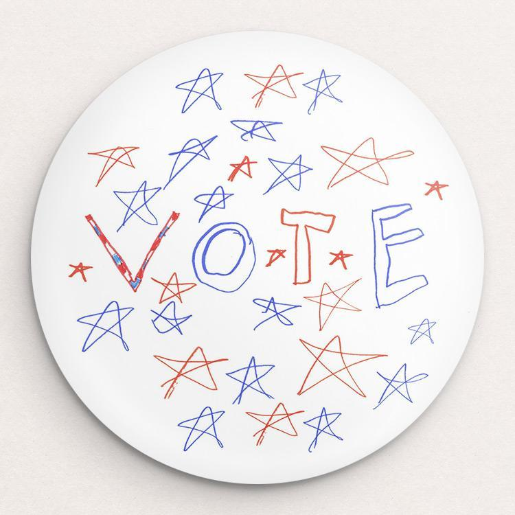 Vote For The Stars Button by CC Eleven