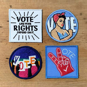 Vote! Hat and Velcro Patch Gift Set by Canopy Velcro Patch Vote!