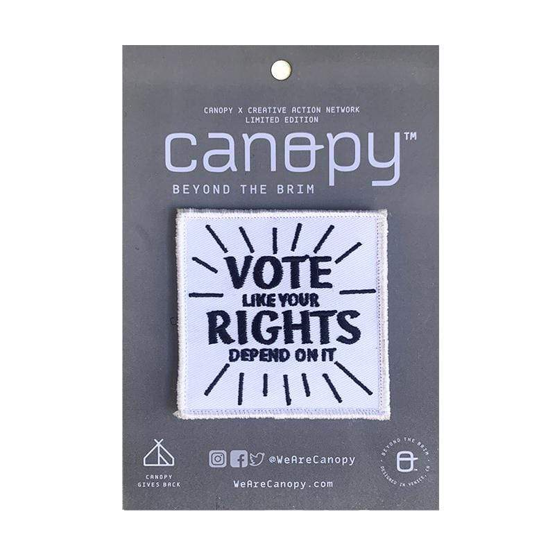 Vote Like Your Rights Depend On It Velcro Patch by Amy Smith Vote!
