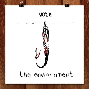Vote Our Oceans by Lily Stelzer