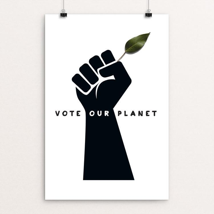 Vote Our Planet 1 by Kevin Mcgeen