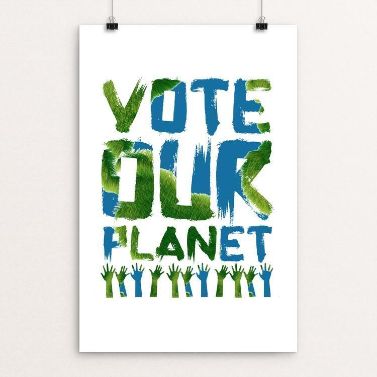 Vote our Planet 2 by Jenny Jones