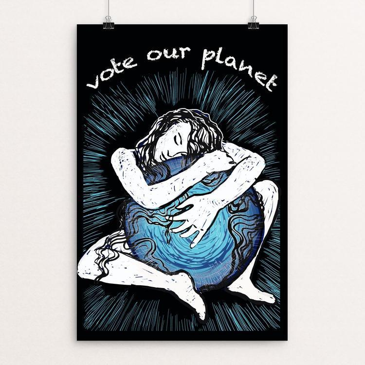 Vote Our Planet by Yael Pardess