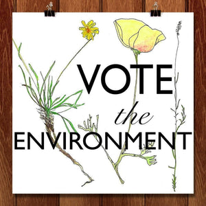 Vote the Environment 1 by Eva Fillion