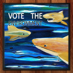 Vote the Environment 2 by Evana Gerstman