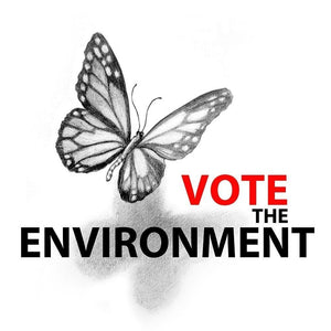 "Vote the Environment 2 by Olesya 12"" by 12"" Print / Unframed Print Vote the Environment"