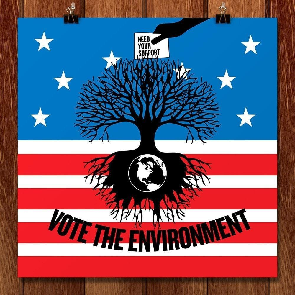 Vote the Environment 2 by Vikram Nongmaithem