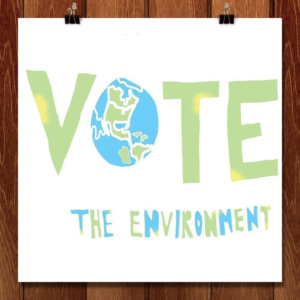 Vote the Environment by Eden Williams