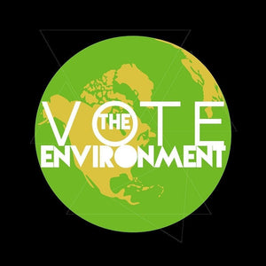 "Vote THE Environment! by Esther 12"" by 12"" Print / Unframed Print Vote the Environment"