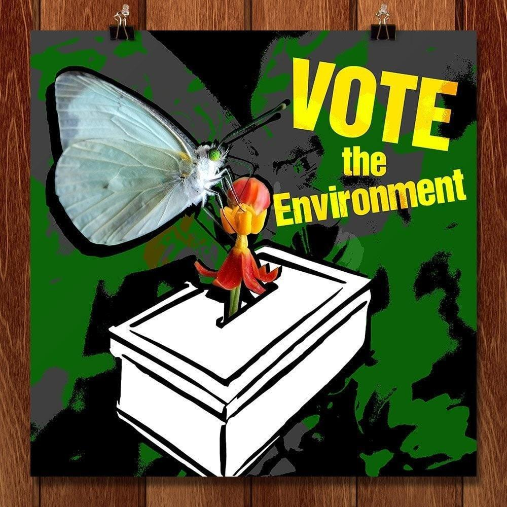 Vote the Environment by Lila Skanavi