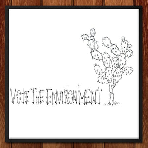 Vote the Succulents by Sam Malpass