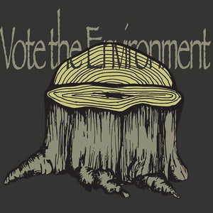 "Vote the Trees by Jodie Jacobs 12"" by 12"" Print / Unframed Print Vote the Environment"