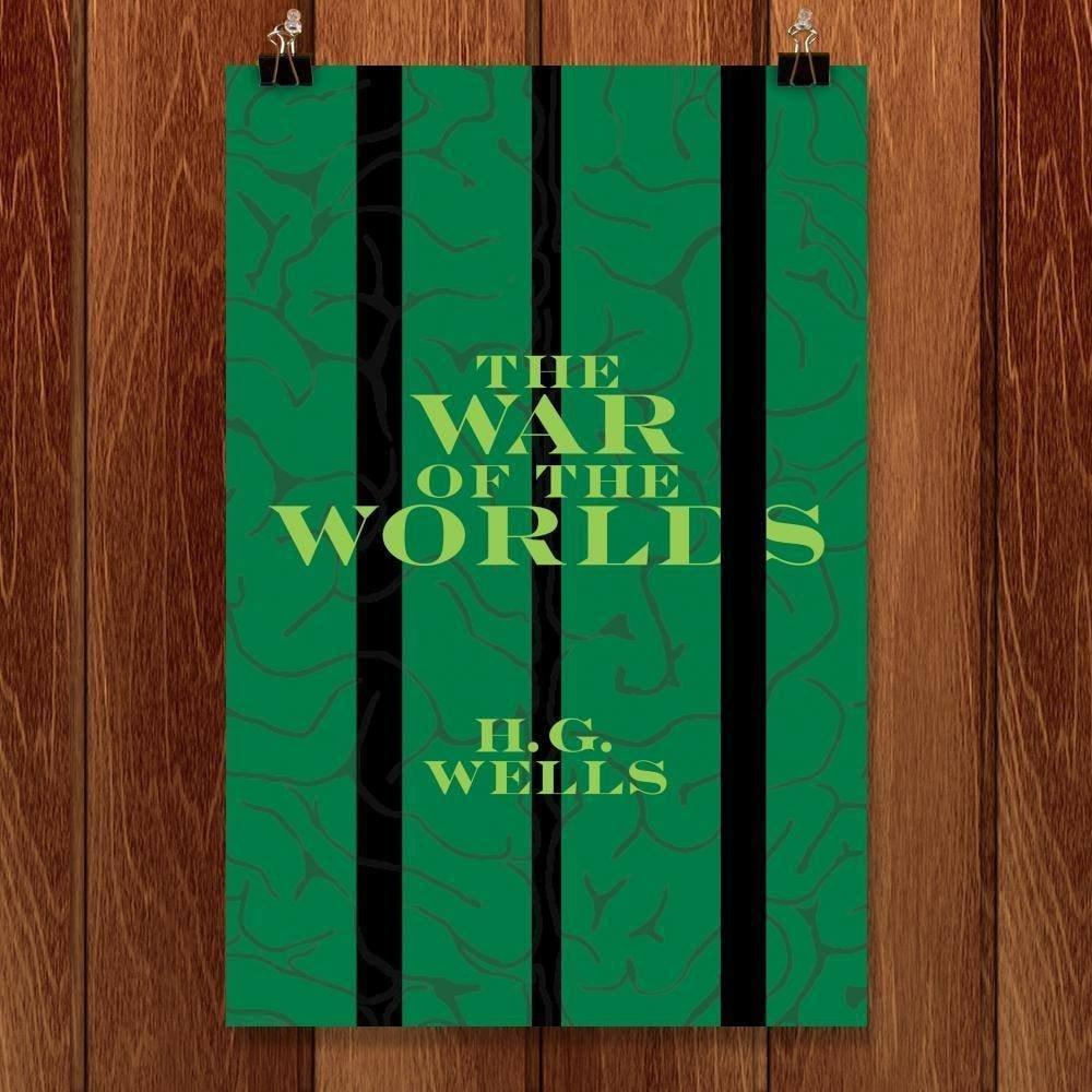 "War of the Worlds by Julie Marquis 12"" by 18"" Print / Unframed Print Recovering the Classics"