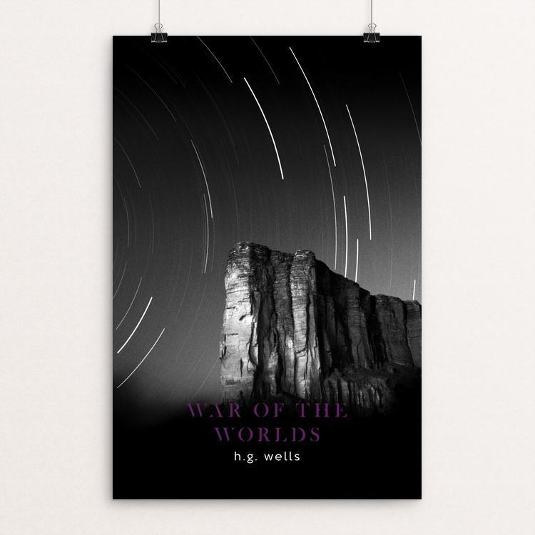 "War of the Worlds by Nick Fairbank 12"" by 18"" Print / Unframed Print Recovering the Classics"