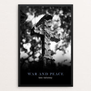 "War & Peace by Nick Fairbank 12"" by 18"" Print / Framed Print Recovering the Classics"